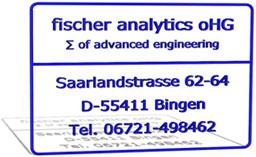 fischer analytics oHG