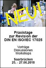 Praxistage zur Revision der DIN EN ISO/IEC 17025