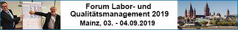 Forum Labor und Qualitätsmanagement 2019
