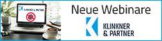 Webinare bei Klinkner & Partner