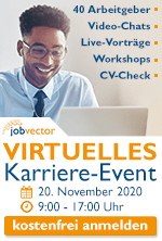 jobvector career day virtuell